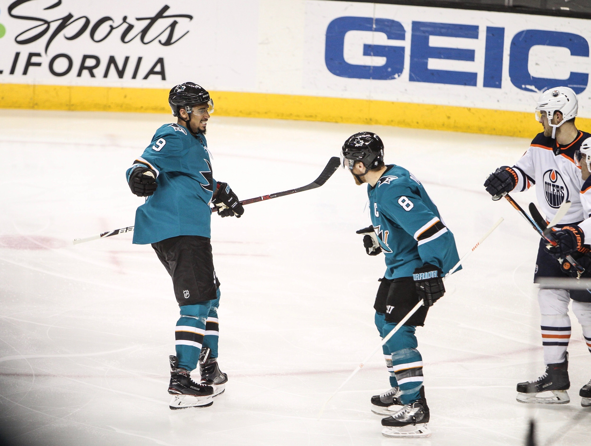 Kane, Pavelski score twice in 8-2 win over Flyers – The Spear